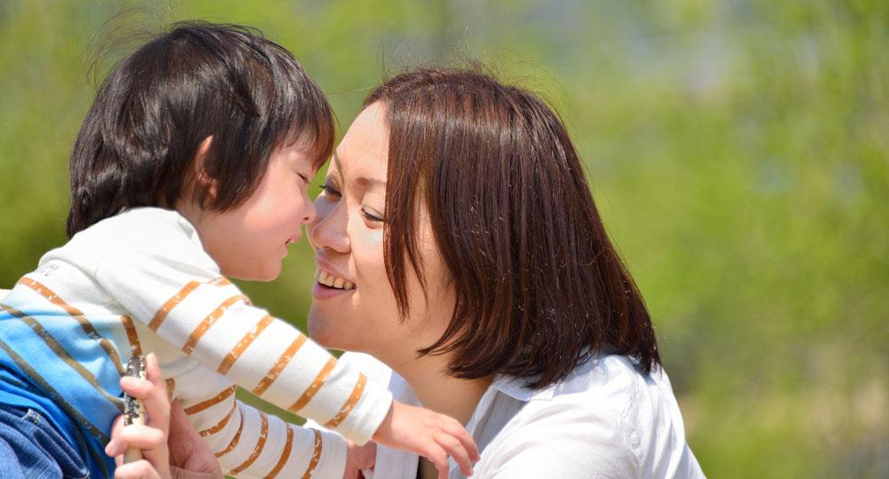 PTSDの子供と母親